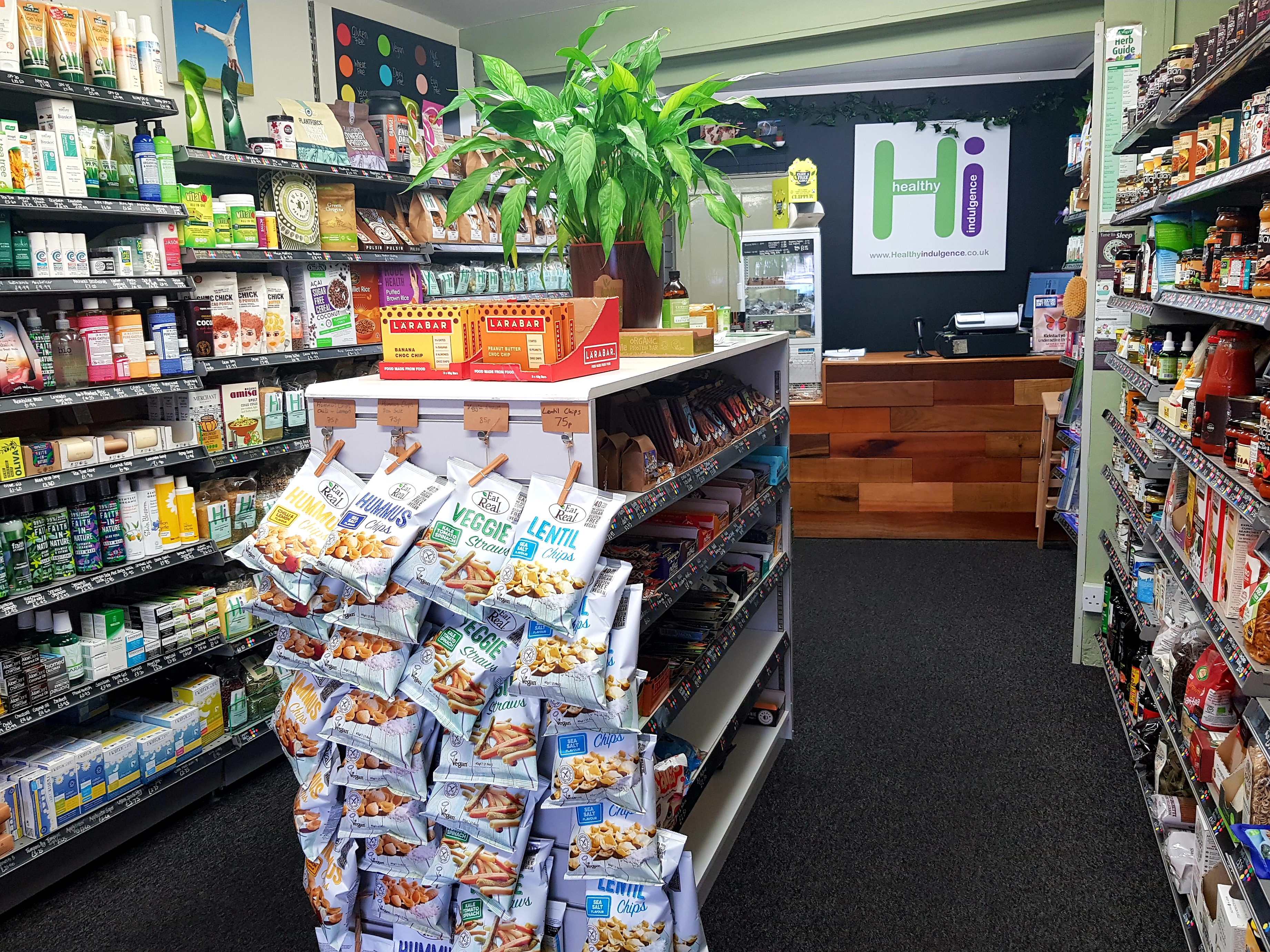 Inside Healthy Indulgence shop, Cowes, Isle of Wight (4)