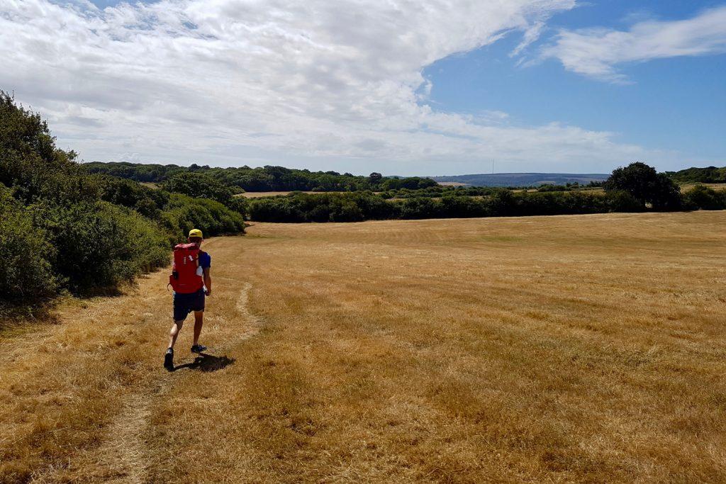 Hiking the Isle of Wight coastal path