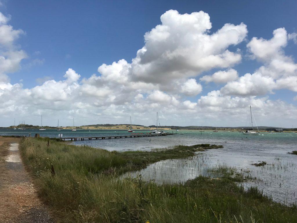 View across Newtown Creek, Isle of Wight