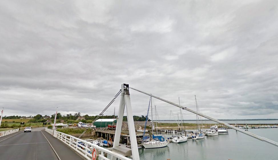 Yarmouth bridge on the Western River Yar, Isle of Wight