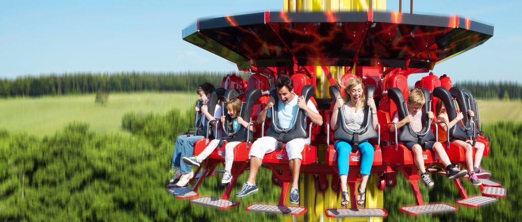 Magma ride at Paulton's Park